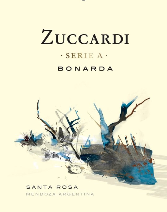 Wine Label: Zuccardi 'Serie A' Bonarda 2018 MAIN