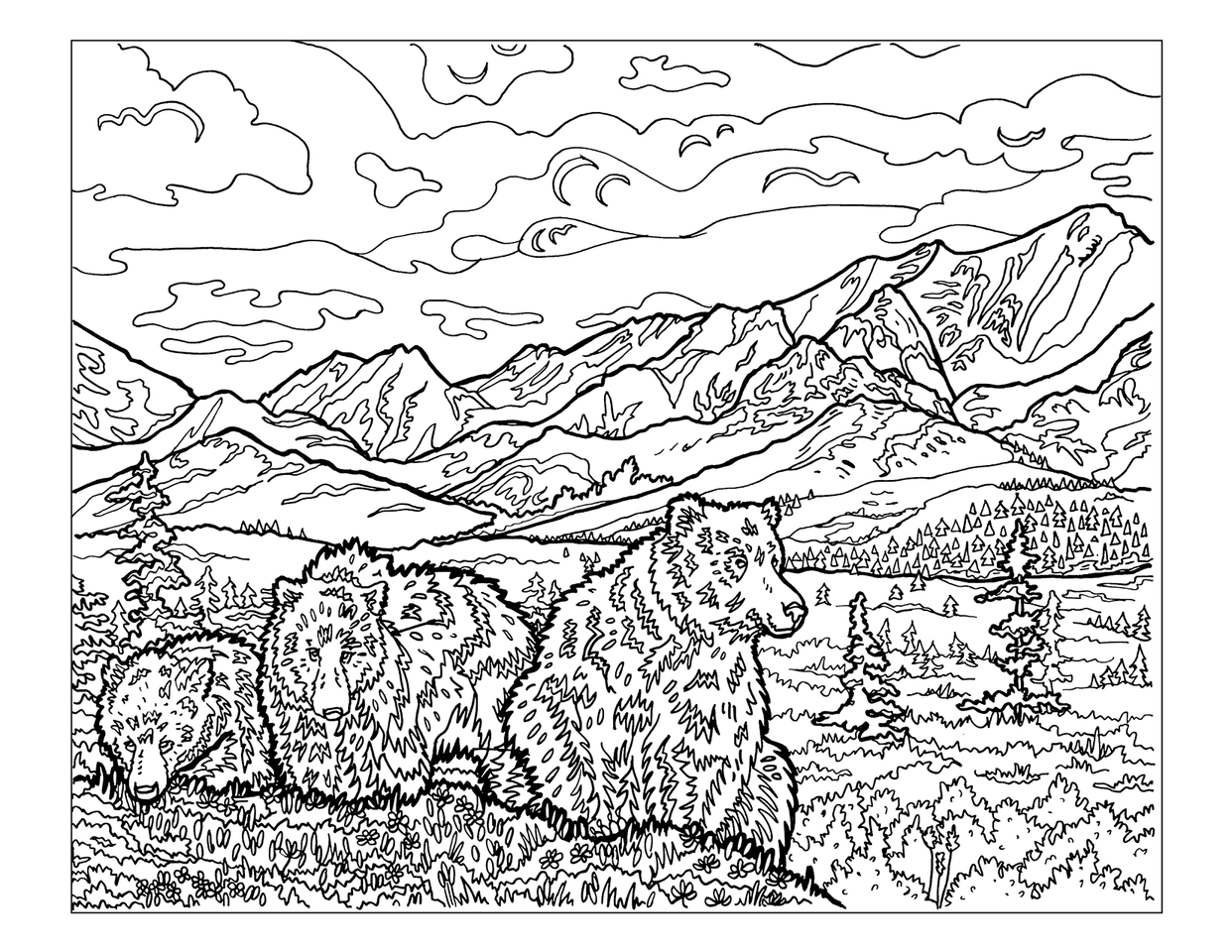 Coloring Book For Adults National Bookstore : The Sierra Club National Parks Coloring Book Sierra Club Online Store