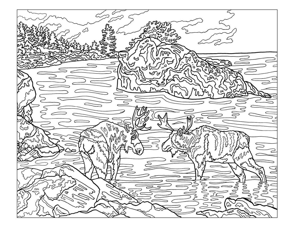 The Sierra Club National Parks Coloring Book Mini-Thumbnail