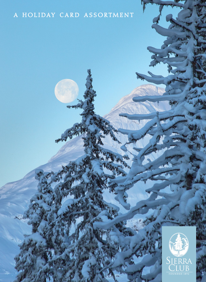 Sierra Club Winter Landscapes Holiday Cards