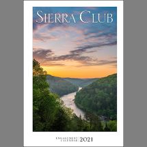 2021 Sierra Club Engagement Calendar THUMBNAIL