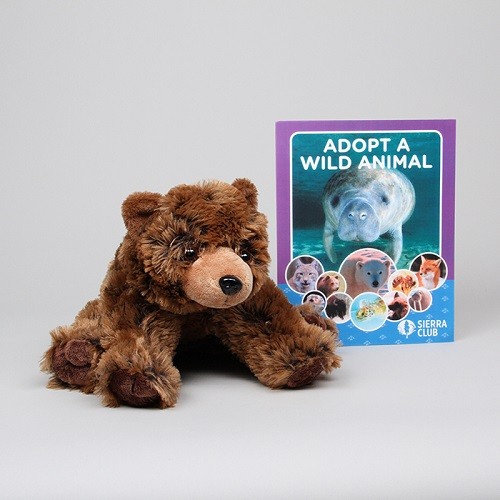 Adopt a Wild Animal Grizzly Bear LARGE