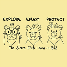 Sierra Club Born in 1892 Onesie SWATCH