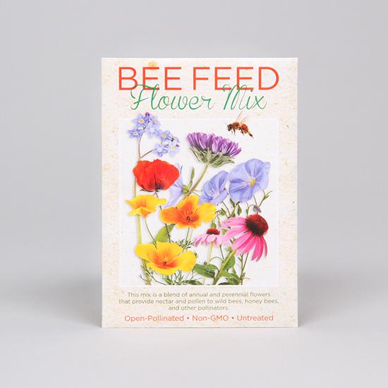 bee feed seed packet sierra club online store
