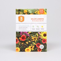 Bird and Butterfly Wildflower Seed Mix