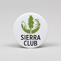 Sierra Club Logo Button