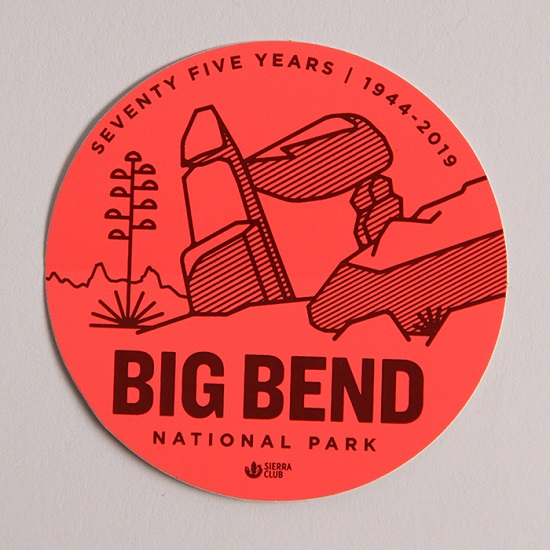 Big Bend Sticker