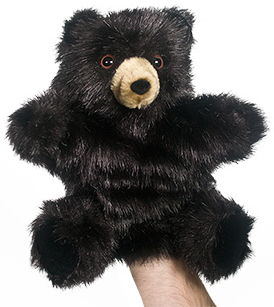 Black Bear Puppet