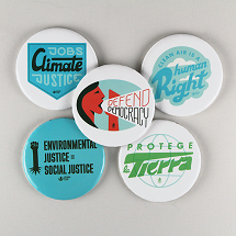 50th Anniversary Earth Day Buttons THUMBNAIL