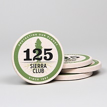 Sierra Club 125th Anniversary Coasters THUMBNAIL
