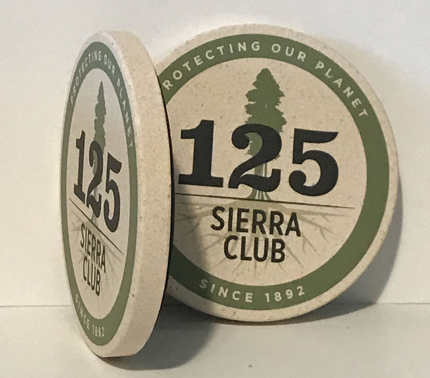 Sierra Club 125th Anniversary Coasters Mini-Thumbnail