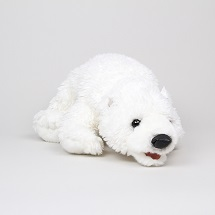 Large Polar Bear Puppet THUMBNAIL