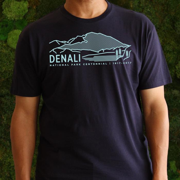 Denali National Park Centennial T-Shirt – Sierra Club Online Store