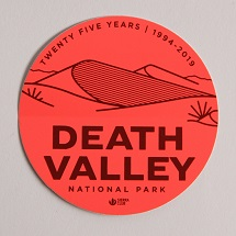 Death Valley Sticker THUMBNAIL