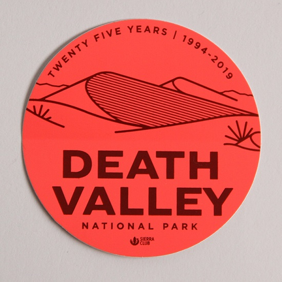Death Valley Sticker LARGE