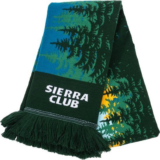 Sierra Club Forest Scarf