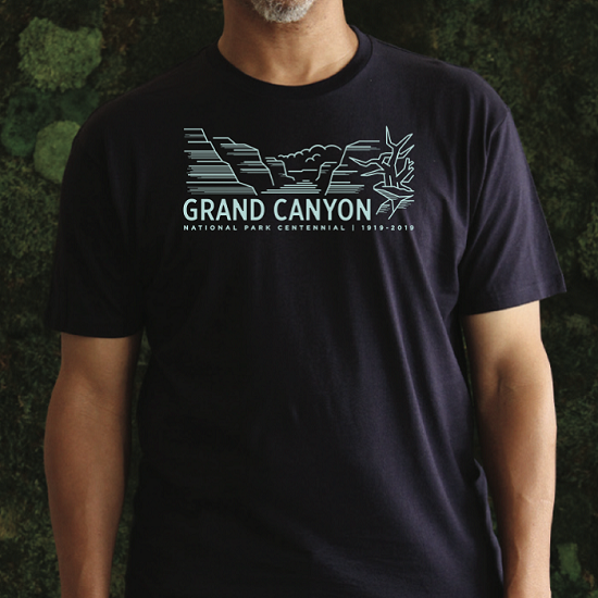 Grand Canyon National Park Centennial T-Shirt LARGE