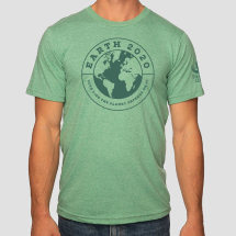 Earth Vote Like the Planet Depends on It Green T-shirt THUMBNAIL