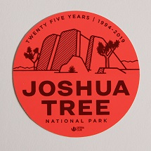 Joshua Tree Sticker THUMBNAIL