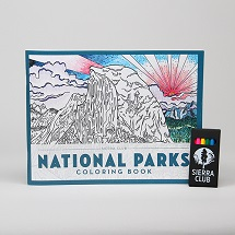 The Sierra Club National Parks Coloring Book THUMBNAIL