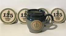 Sierra Club 125th Anniversary Stoneware Mug & Coaster Set Mini-Thumbnail