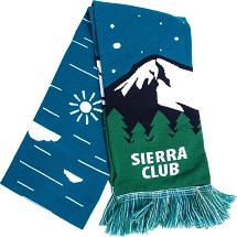 Sierra Club Mountain Scarf THUMBNAIL