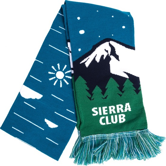Sierra Club Mountain Scarf
