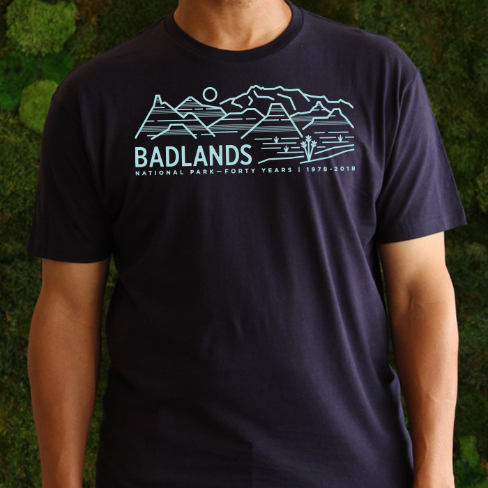 Badlands National Park 40th Anniversary T-Shirt