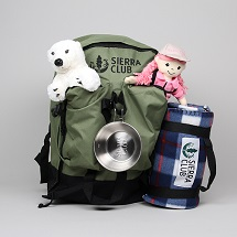 Sierra Club Kids Overnight Pack
