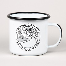 Grand Canyon National Park Enamel Mug