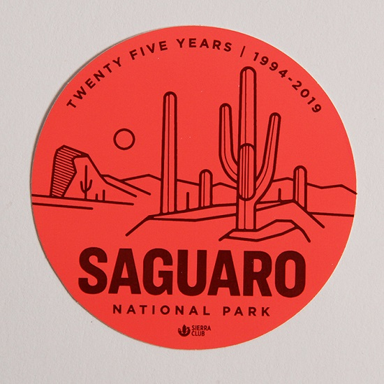 Saguaro Sticker