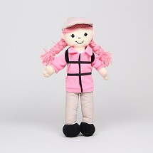 Sarah Sierra Club Hiker Doll THUMBNAIL