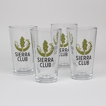 Sierra Club Logo Pint Glasses THUMBNAIL