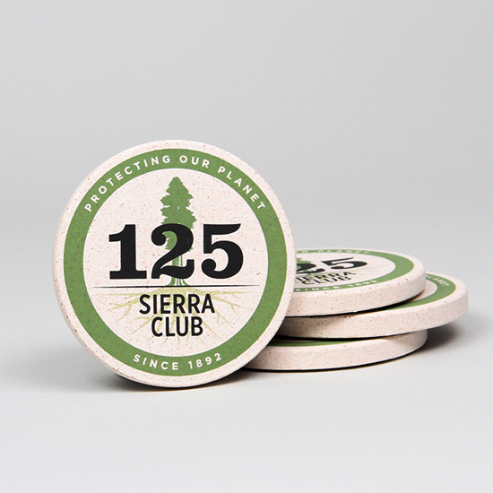 Sierra Club 125th Anniversary Coasters