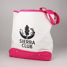 Sierra Club Canvas Beach Tote THUMBNAIL
