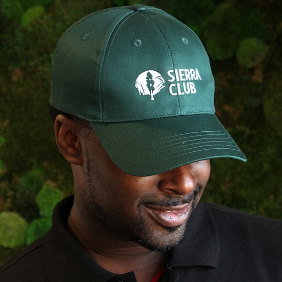 Sierra Club Logo Cap LARGE