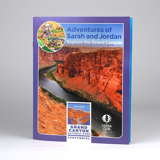 Grand Canyon Activity Book: Adventures of Sarah and Jordan LARGE