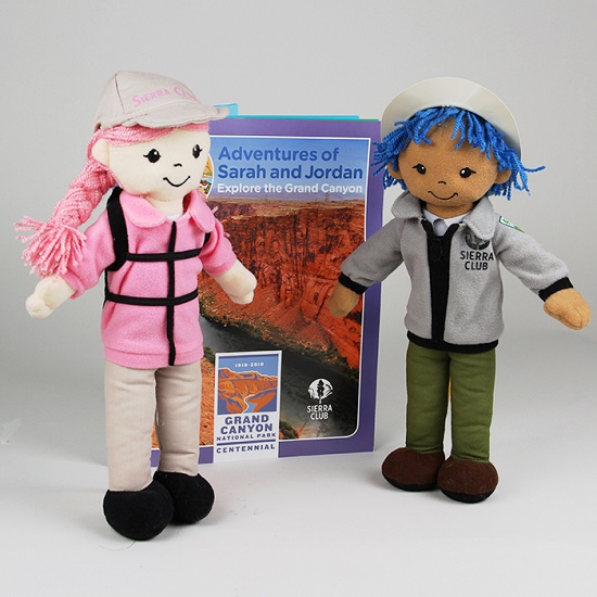 Sarah Sierra + Junior Ranger Jordan + Grand Canyon Activity Book