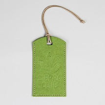 Sierra Club Logo Recycled Green Luggage Tag SWATCH