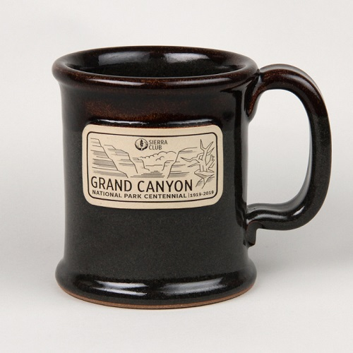 Grand Canyon National Park Centennial Stoneware Mug LARGE