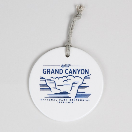 Ceramic Grand Canyon NP Centennial Ornament