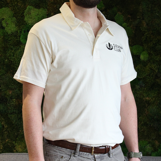 Sierra Club Organic Cotton Polo Shirt