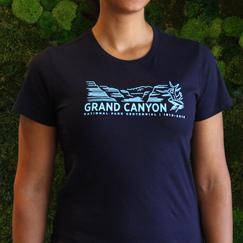 Grand Canyon National Park Centennial Women's T-Shirt LARGE