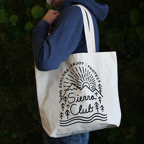 Sierra Club Eco Canvas Organic Cotton Tote