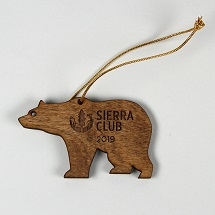 Sierra Club 2019 Bear Ornament THUMBNAIL