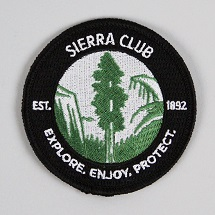 Sierra Club Logo Patch THUMBNAIL