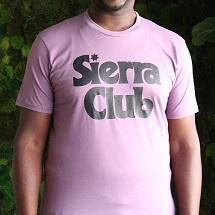 Sierra Club Retro Font T-Shirt THUMBNAIL