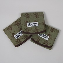Sierra Club Reusable Sandwich Wraps (set of 3) THUMBNAIL