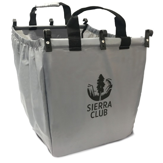 Sierra Club Grocery Cart Shopping Tote LARGE