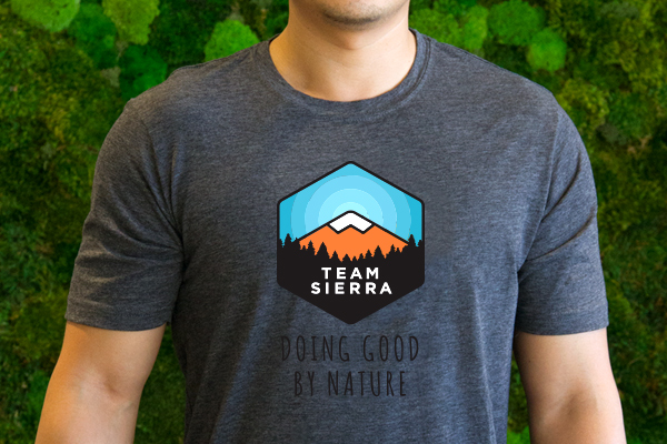 Team Sierra Men's T-shirt THUMBNAIL